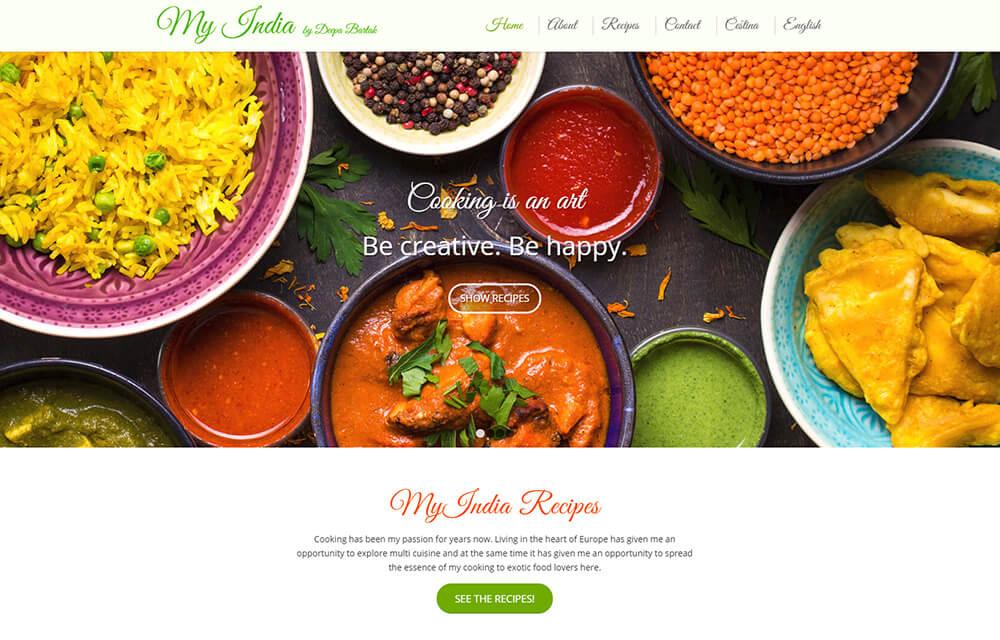 My India - recipes
